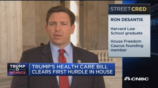 Rep. Desantis: Trump's bill is a work in progress