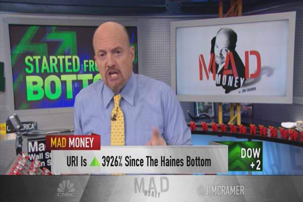 Cramer's 10 best S&P performers since the Great Recession