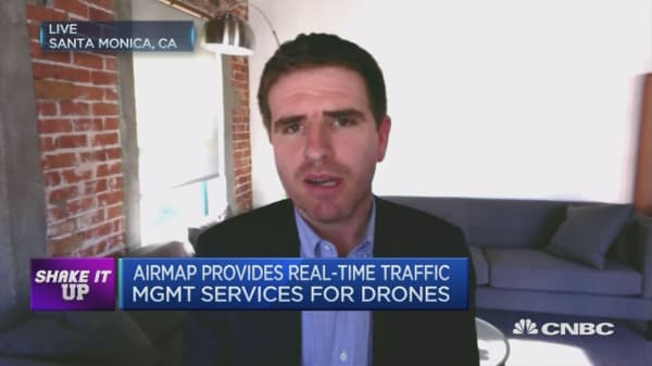 How this start-up helps drones navigate air traffic