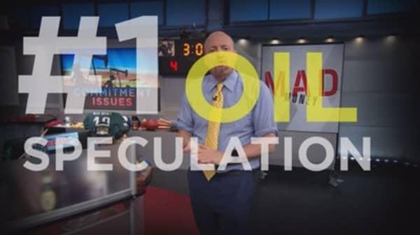Cramer Remix: What's driving oil's massive liquidation