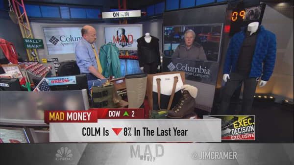 Columbia Sportswear CEO slams Trump border tax