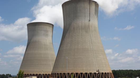 The Vogtle atomic plant in Burke County, near Waynesboro, Georgia, in the U.S.
