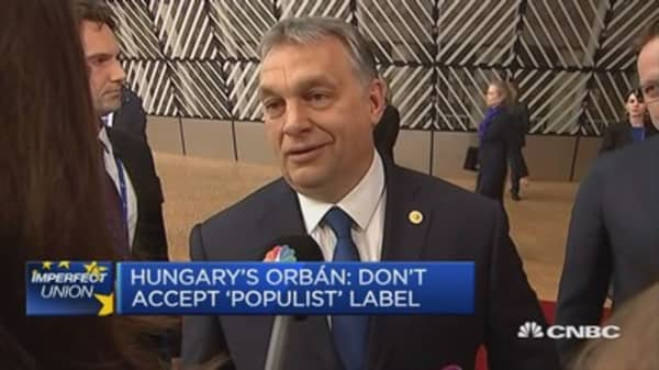 Le Pen's program is complicated: Hungary PM