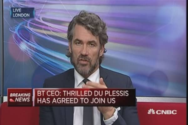Extremely angry about Italy fraud scandal: BT CEO