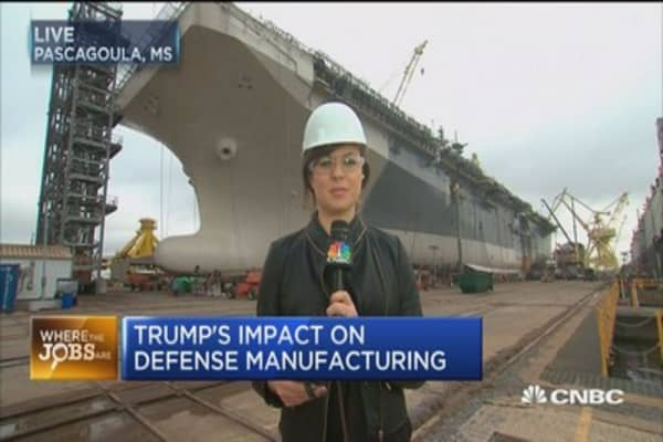 Where the jobs are: Shipbuilding