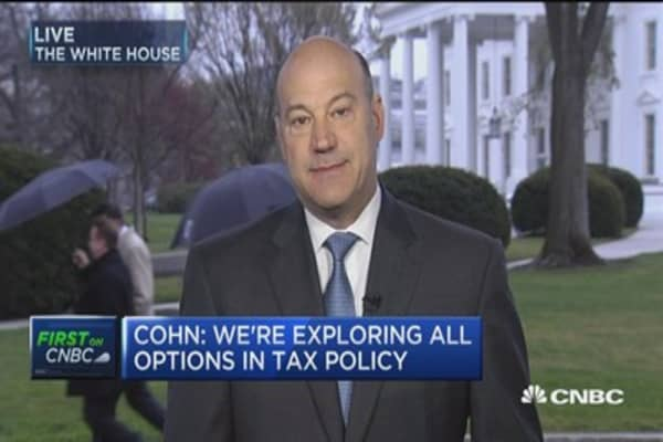 Cohn: We are data-driven and trying to drive the administration to make right decisions