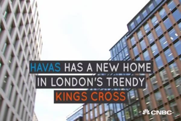 Havas has a new home