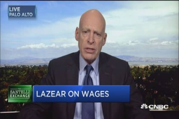 Economist: Wage growth signals good things for economic recovery