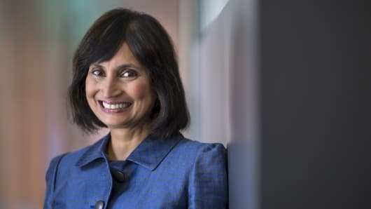 Padmasree Warrior, chief executive officer of U.S. operations for NextEV Inc.