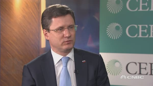 Russian energy minister: We did not interfere in US domestic politics