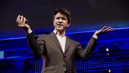 Travis Kalanick, billionaire and chief executive officer of Uber Technologies Inc.