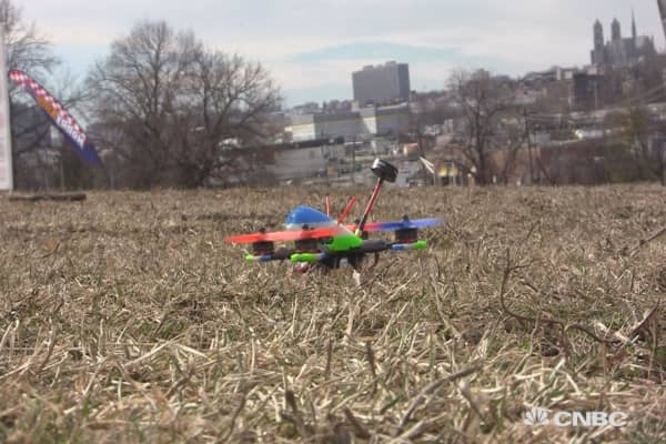 To the skies: An inside look at drone racing