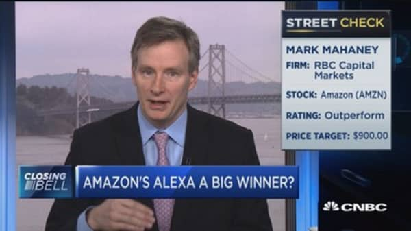 Mahaney: Amazon's Alexa to generate $10B in revenue by 2020
