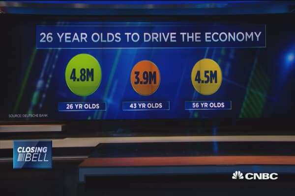 26-year-olds to drive economy?