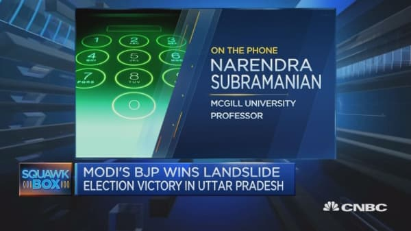 Narendra Modi's BJP wins big