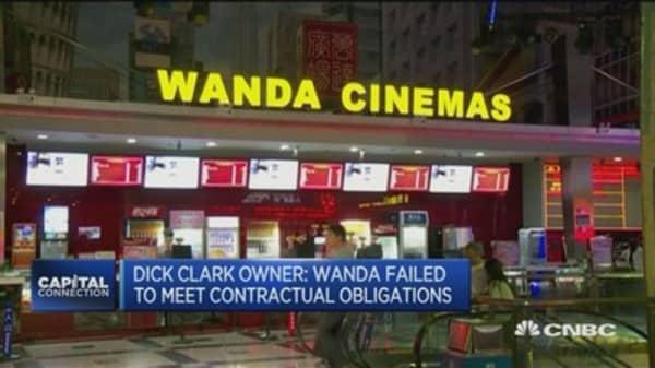 Wanda's Hollywood plans fall through