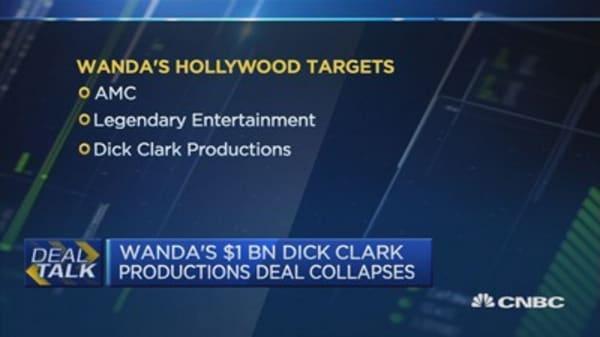 Wanda's $1B Dick Clark productions deal collapses