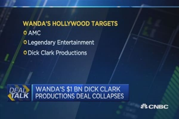 Wanda's $1B Dick Clark productions deal collapses