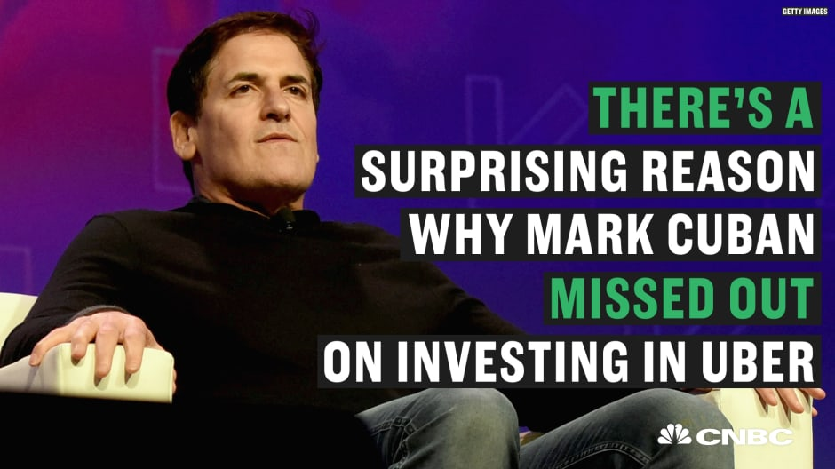 How a misstep with Uber brought back an important lesson Mark Cuban forgot