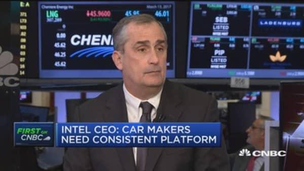 Intel's Krzanich: Next data revolution will be visual data