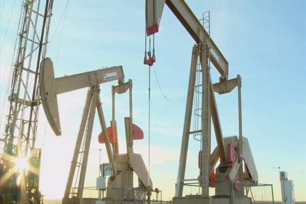 Oil prices touch three-month lows
