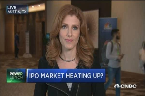 IPO market heating up?