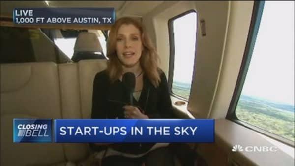Start-ups in the sky?