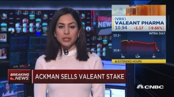 Ackman: Valeant required a large amount of time
