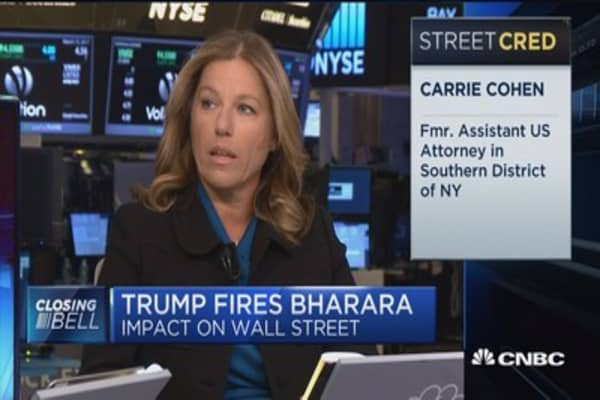 Trump fires Bharara: Impact on Wall Street