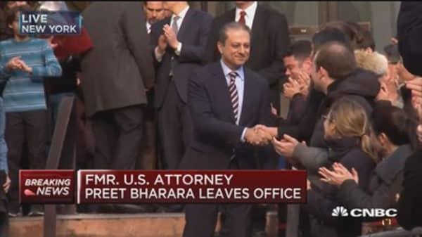 Former US Attorney Preet Bharara leaves office