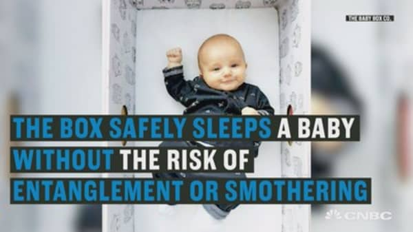 These cardboard boxes are putting a stop to sudden infant death
