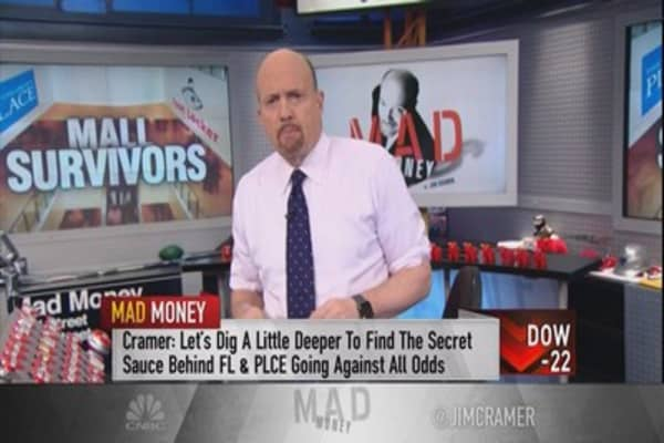 Cramer: 2 retail stocks that have managed to thrive in a crumbling environment