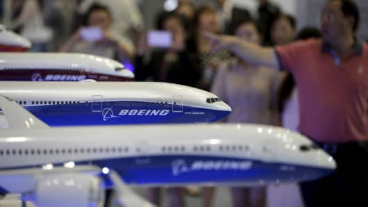 Boeing raises 20-year China plane forecast on travel boom