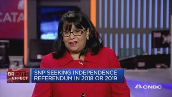 Scottish Referendum won't help Brexit negotiations: Baroness Verma