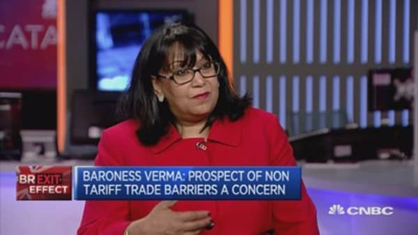 Businesses looking for certainty in post-Brexit world: Baroness Verma