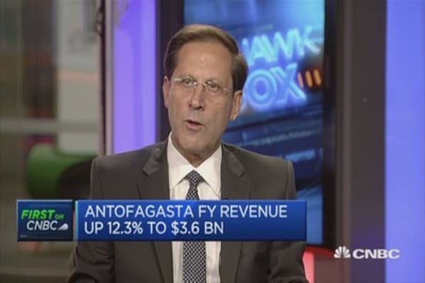 Outlook for copper is favorable: Antofagasta CEO