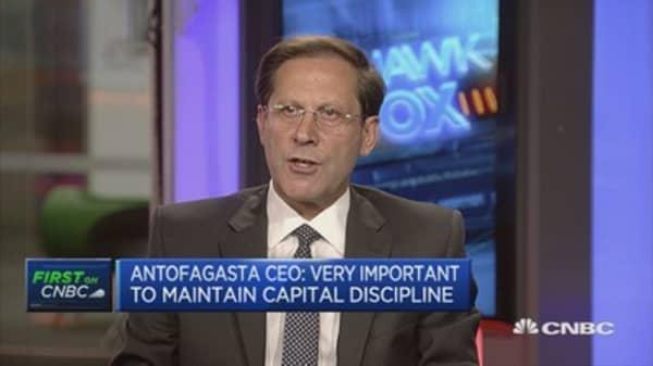 Fairly positive on copper demand going ahead: Antofagasta CEO