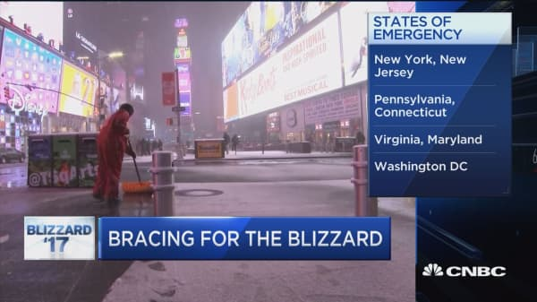 Bracing for the blizzard