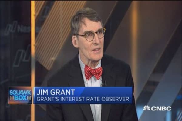Watch inflation data: Jim Grant
