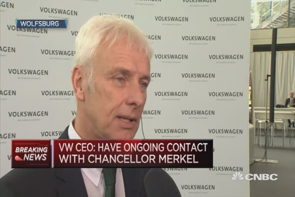 Quite a few major headaches: Volkswagen CFO