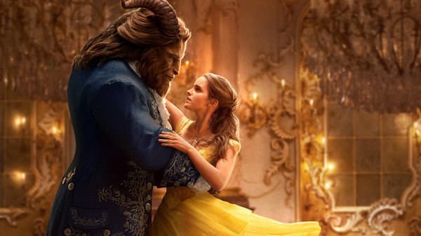 "A scene from Disney's ""Beauty and the Beast."""