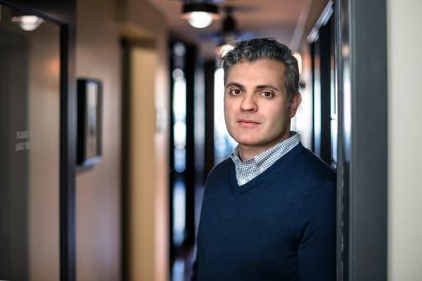 Lamine Zarrad, CEO of Tokken.