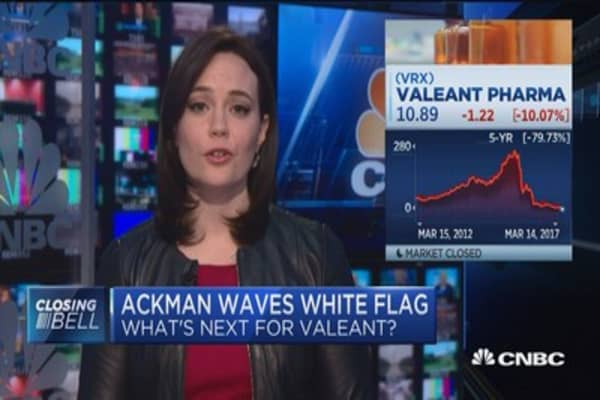 Valeant assets still good, but issue continues to be its debt burden: Grant