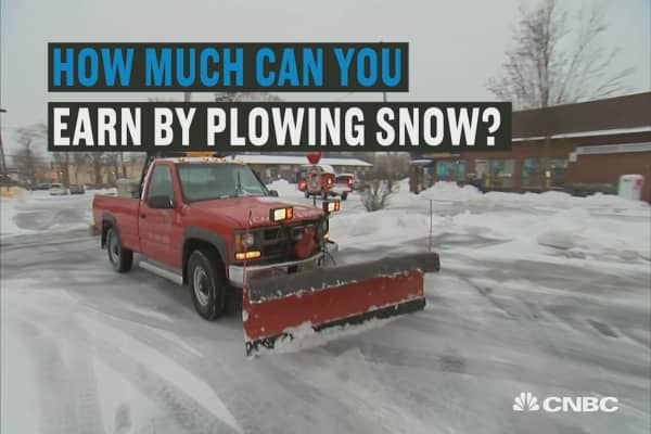 These guys can make $1M a year plowing snow