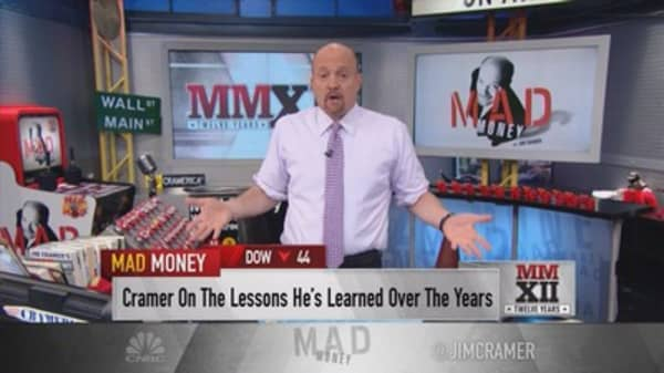 The most important lesson Jim Cramer learned on 12 years of 'Mad Money'