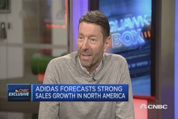 Adidas CEO: All our advertising now through digital media