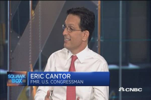 Process isn't pretty but GOP health plan will get done: Eric Cantor