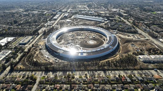 Apples new office will reflect Jobss desire to mimic the outdoors