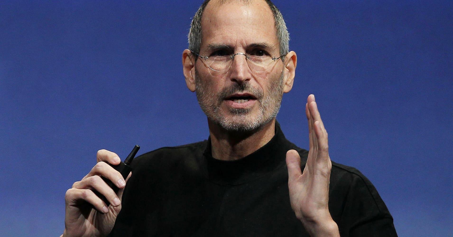 Steve Jobs, co-founder of Apple