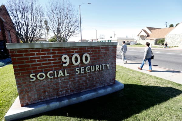 The Social Security Office in Alhambra, California.